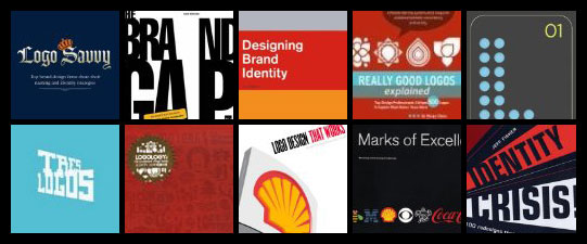 10 Great Logo Design, Branding and Identity Books